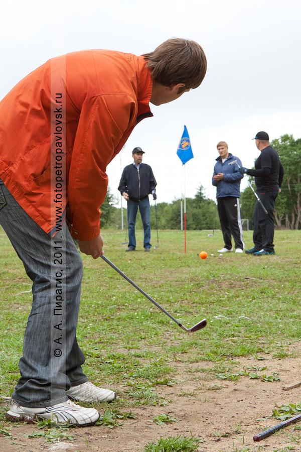 Фотография: камчатский гольф. Открытый турнир Петропавловск-Камчатского городского округа по гольфу