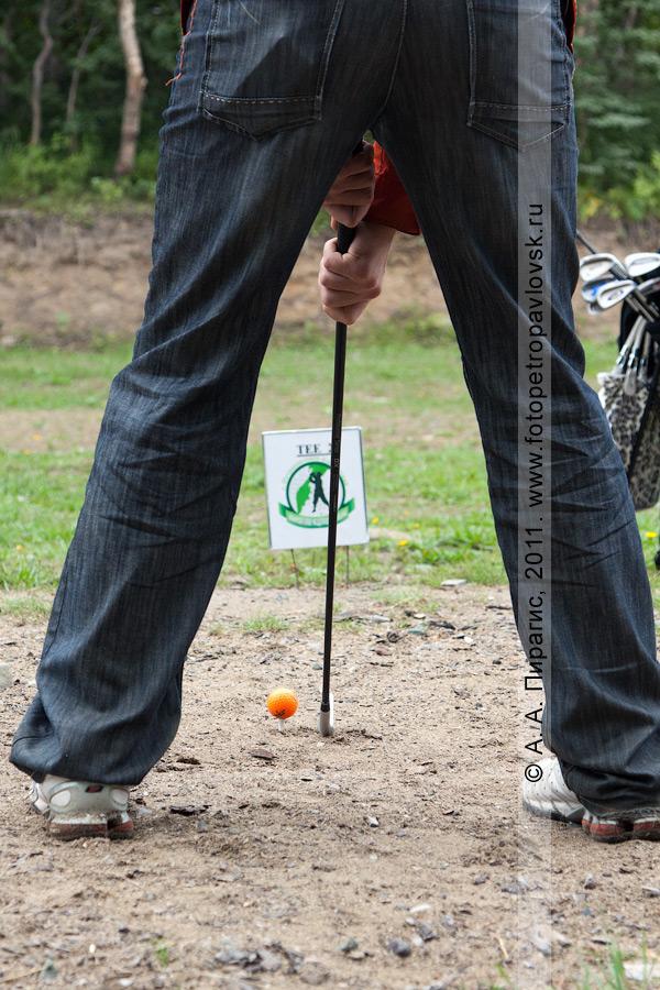 Фотография: соревнования по гольфу в городе Петропавловске-Камчатском