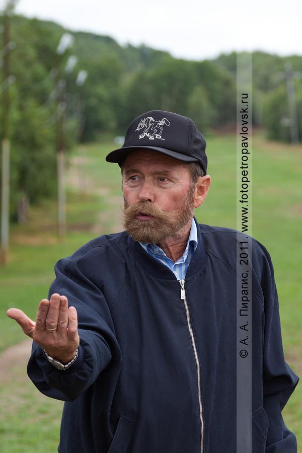 Фотография: камчатский гольфист Вакарин Александр. Открытый турнир Петропавловск-Камчатского городского округа по гольфу