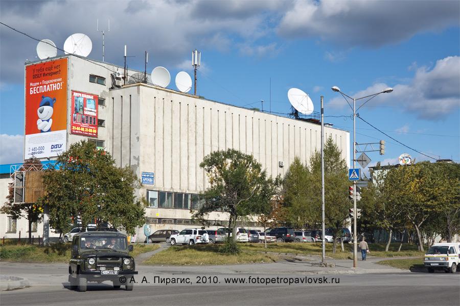 Фотография: городская телефонная станция (ГТС) Петропавловска-Камчатского, город Петропавловск-Камчатский, проспект Победы, 12
