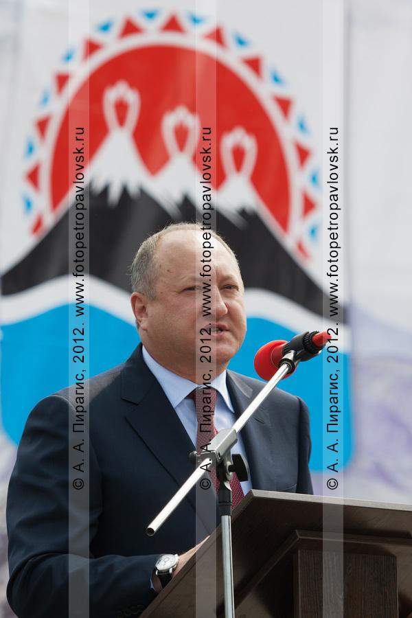 Фотография: Илюхин Владимир Иванович — губернатор Камчатского края, председатель Правительства Камчатского края