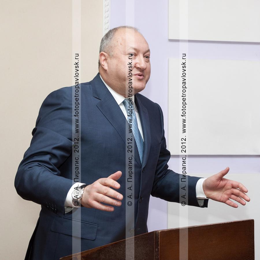 Фотография: Илюхин Владимир — губернатор Камчатского края, председатель Правительства Камчатского края