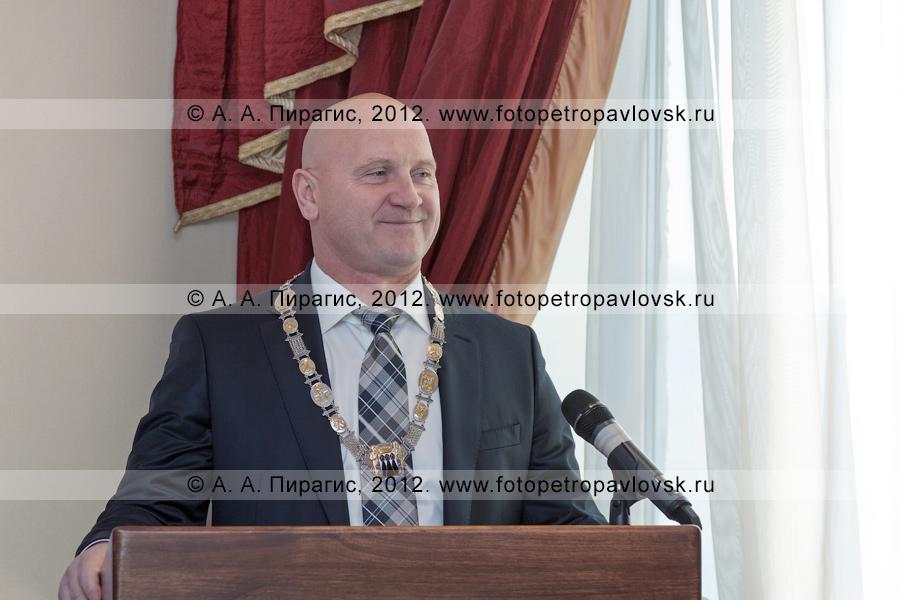 Фотография: мэр Петропавловска-Камчатского Константин Слыщенко