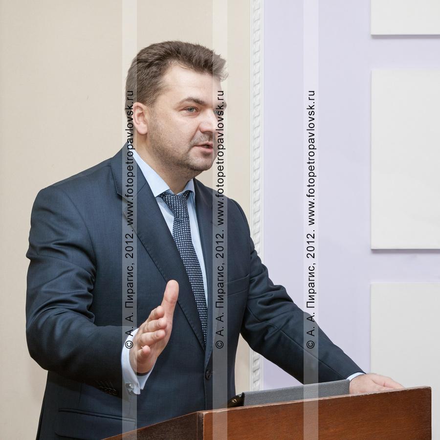 Фотография: Алексей Алексеев — глава администрации Петропавловск-Камчатского городского округа