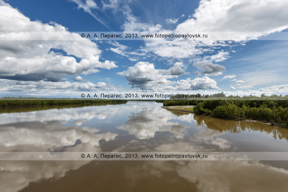 Фотография: река Камчатка — крупнейшая река Камчатского края
