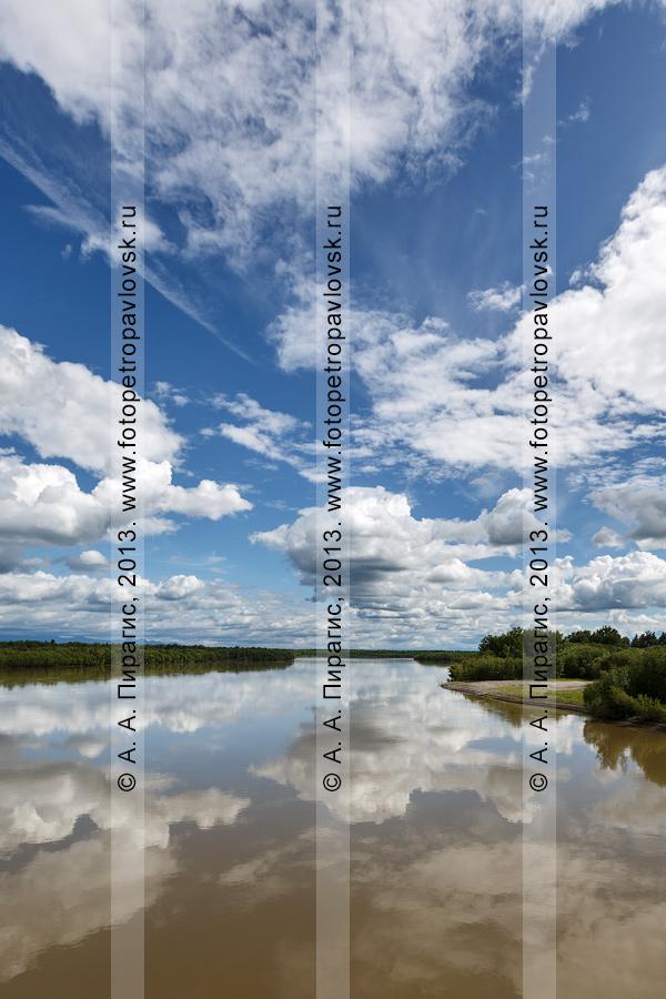 Фотография: река Камчатка — крупнейшая река на полуострове Камчатка