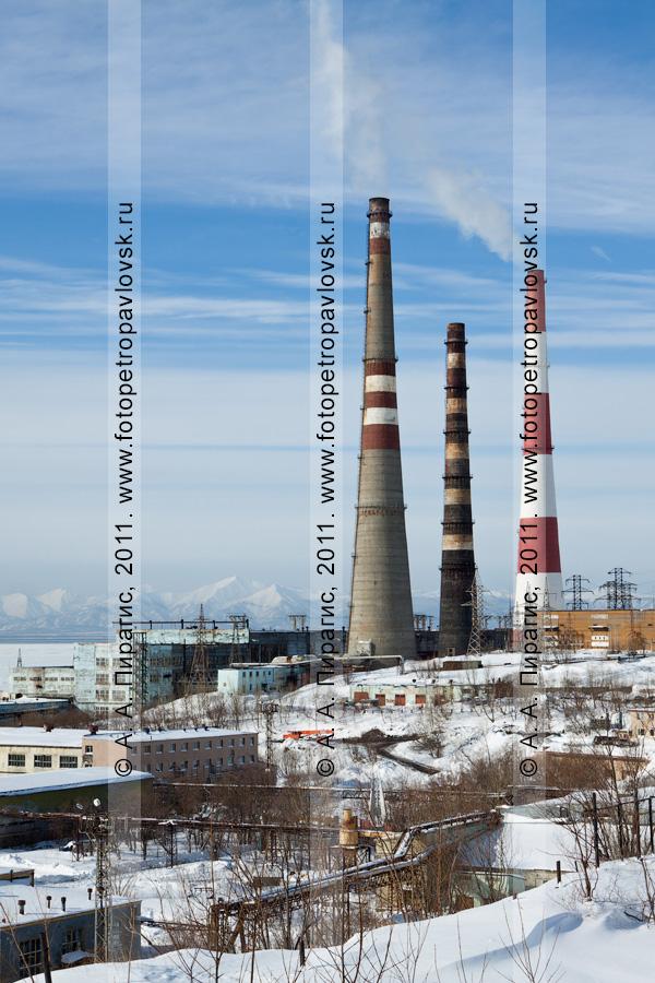 Фотография: Камчатская теплоэлектроцентраль № 1. Город Петропавловск-Камчатский, улица Сахалинская (район СРВ)