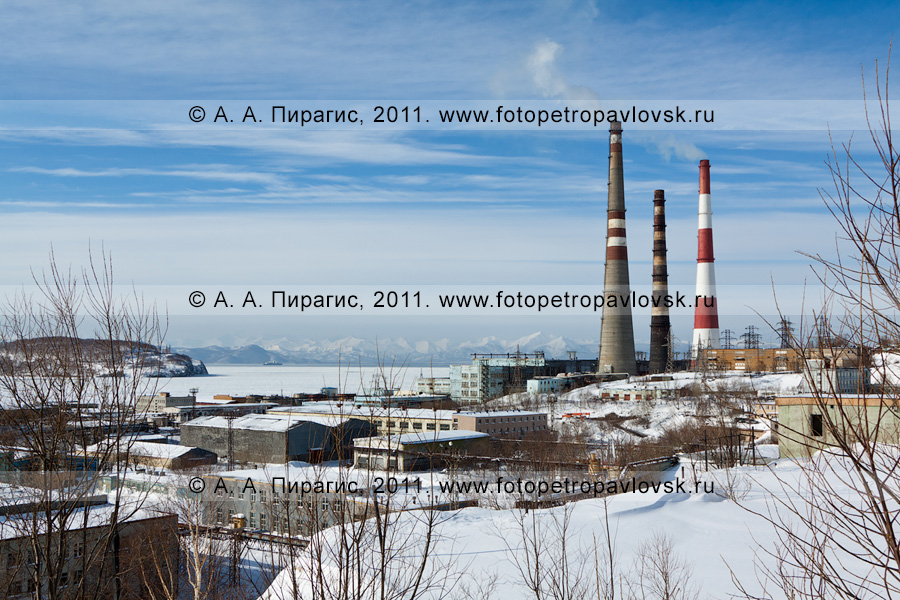 Фотография: Камчатская ТЭЦ-1, город Петропавловск-Камчатский, улица Сахалинская, 28 (район СРВ)