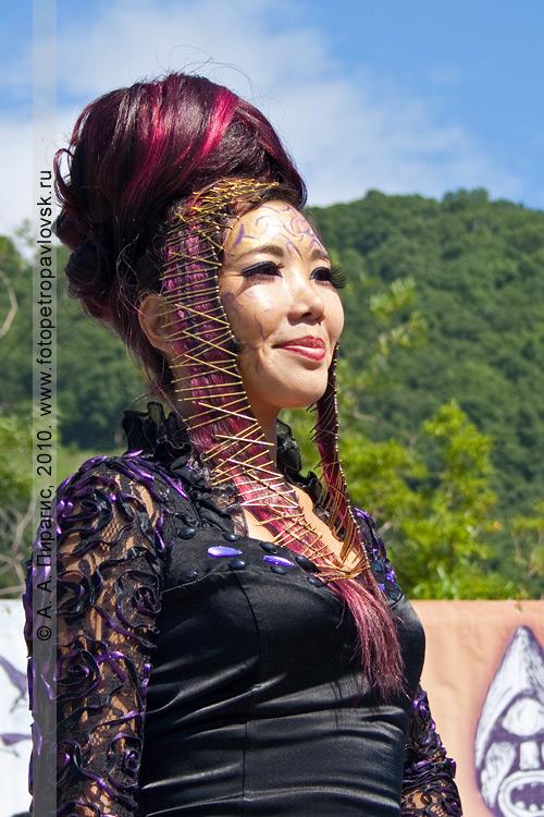 Фотография: победитель в конкурсе причесок. Международный день коренных малочисленных народов мира