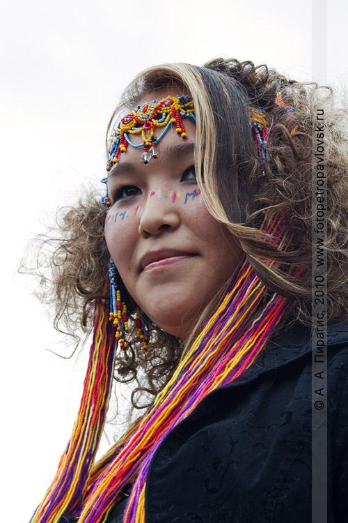 Фотография: конкурс причесок. День аборигена в городе Петропавловске-Камчатском