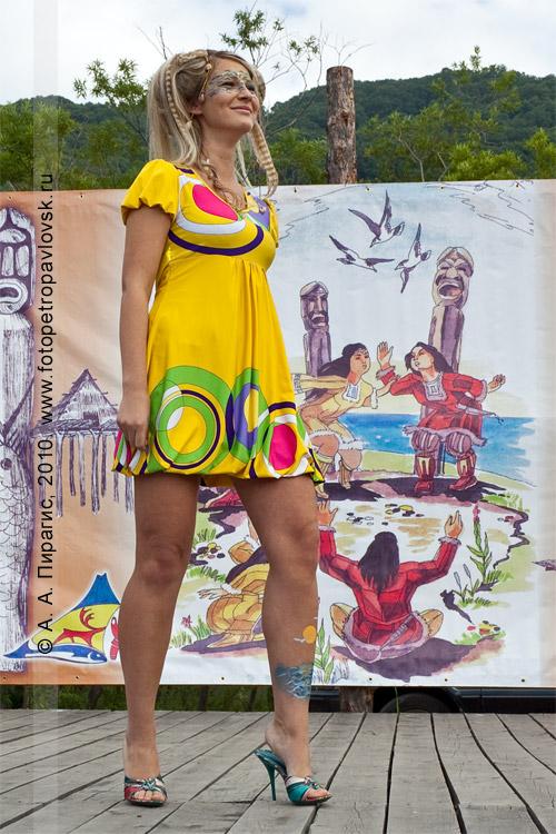 Фотография: конкурс причесок — дефиле. День аборигена в Петропавловске-Камчатском