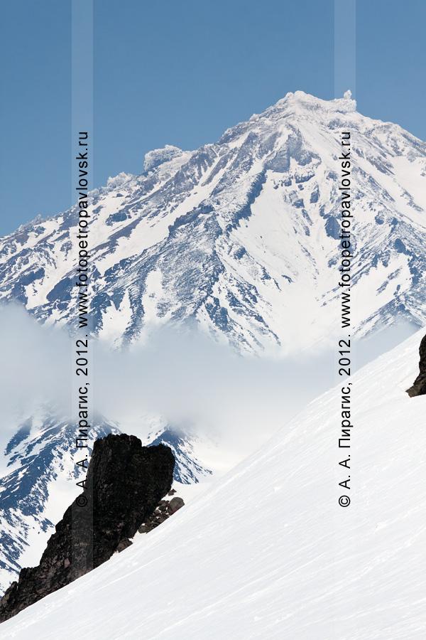 Фотография: Корякская сопка (Корякский вулкан) — активный вулкан на Камчатке
