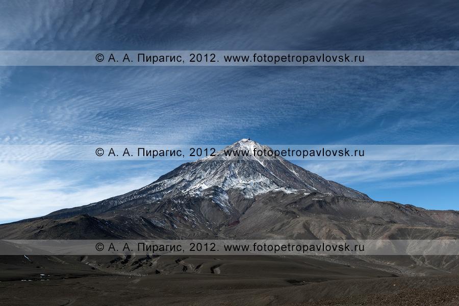Фотография: камчатский пейзаж — Корякский вулкан — активный вулкан Камчатки