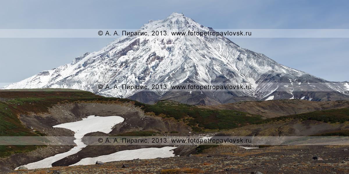 Фотография: Корякский вулкан, или Корякская сопка, — действующий стратовулкан на Камчатке