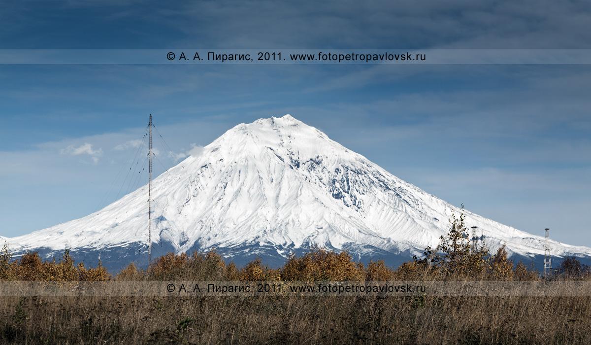 Фотография: Корякский вулкан — действующий вулкан Камчатки