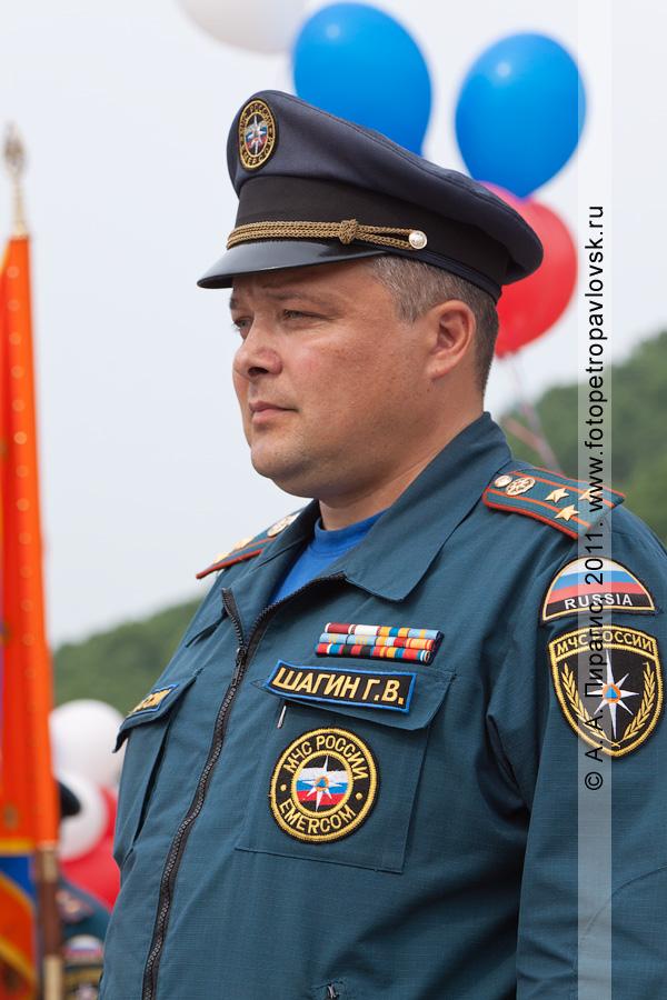 Фотография: Геннадий Шагин — временно исполняющий обязанности начальника Главного управления МЧС России по Камчатскому краю