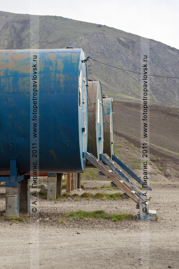 Фотография: здания Поисково-спасательного отряда Камчатского края на Авачинском перевале