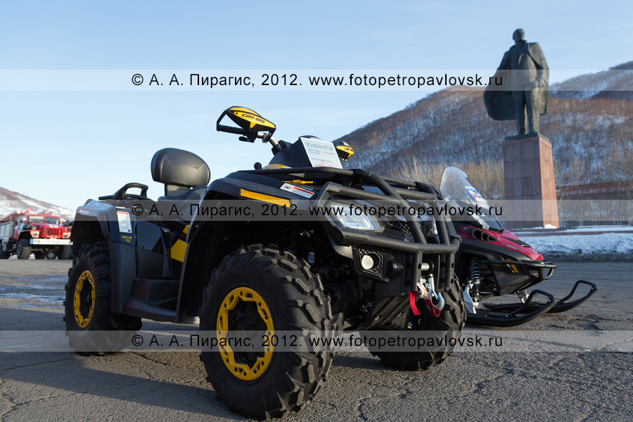 Фотография: квадроцикл BRP CAN-AM Outlander 800R EFI X MR
