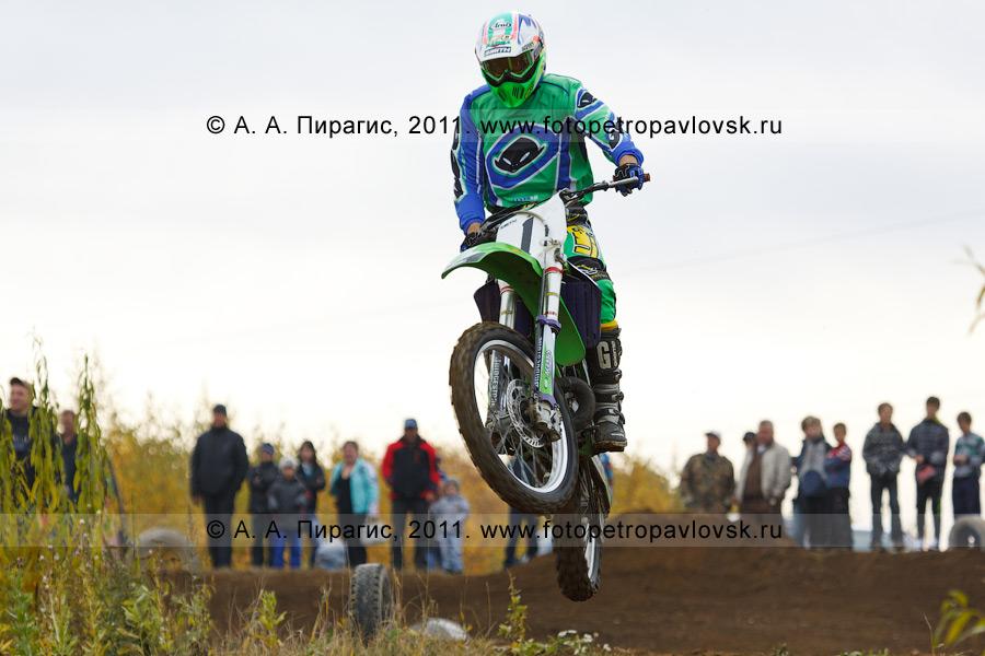 Фотография: автомотоспорт на Камчатке — соревнования по мотокроссу в городе Елизово
