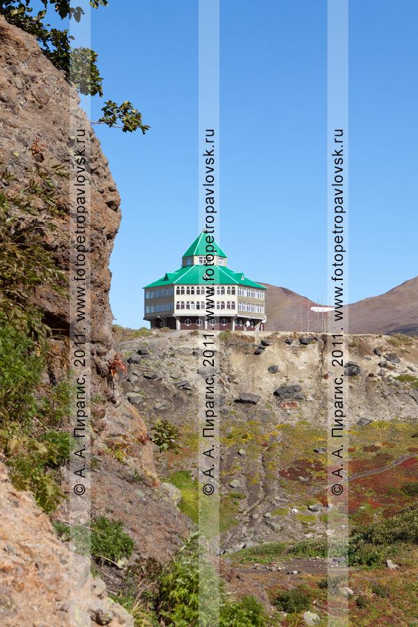 Фотография: гостиница, Мутновская геотермальная электростанция (ГеоЭС), полуостров Камчатка