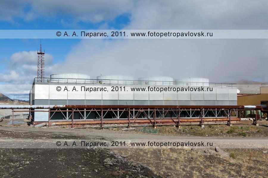 Фотография: Мутновская геотермальная электростанция (Мутновская ГеоЭС). Камчатский край