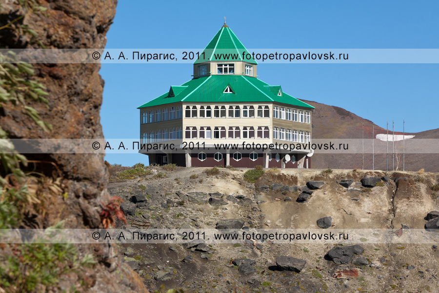 Фотография: гостиница, Мутновская геотермальная электростанция (ГеоЭС), Камчатский край