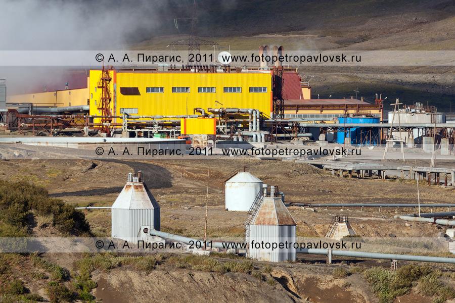 Фотография: Мутновская геотермальная электростанция (Мутновская ГеоЭС). Полуостров Камчатка