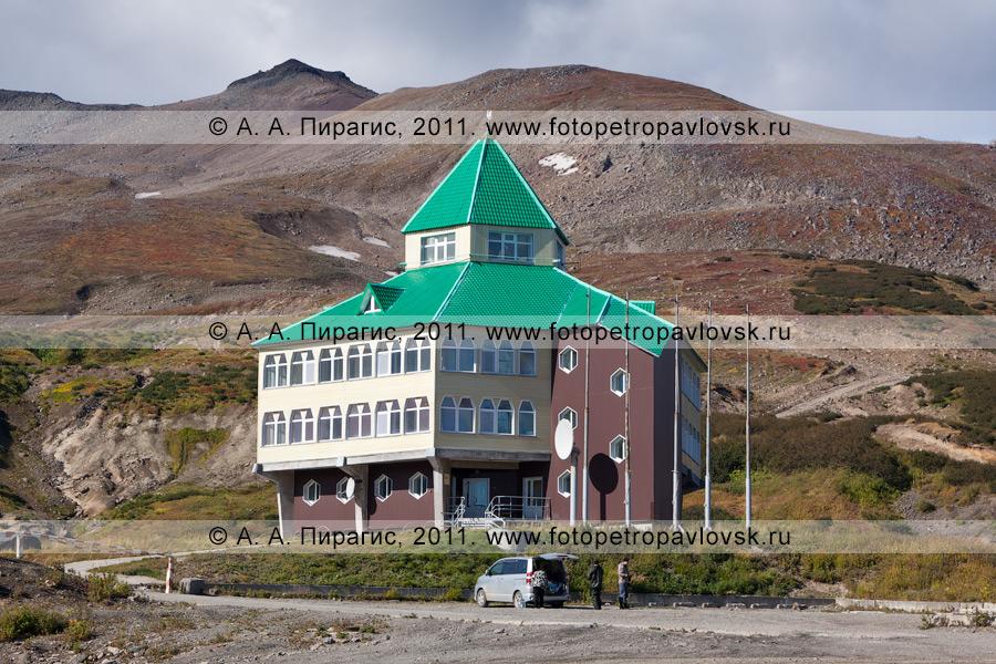 Фотография: гостиница, Мутновская геотермальная электростанция (ГеоЭС) на Камчатке