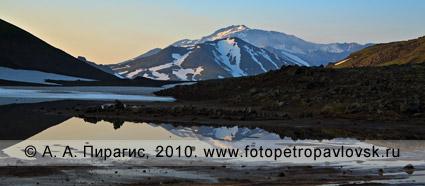 Вулкан Мутновская Сопка на Камчатке