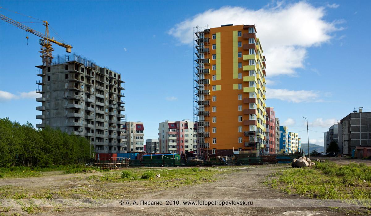 """Фотография: новые многоэтажные здания в микрорайоне """"Северо-Восток"""" города Петропавловска-Камчатского"""