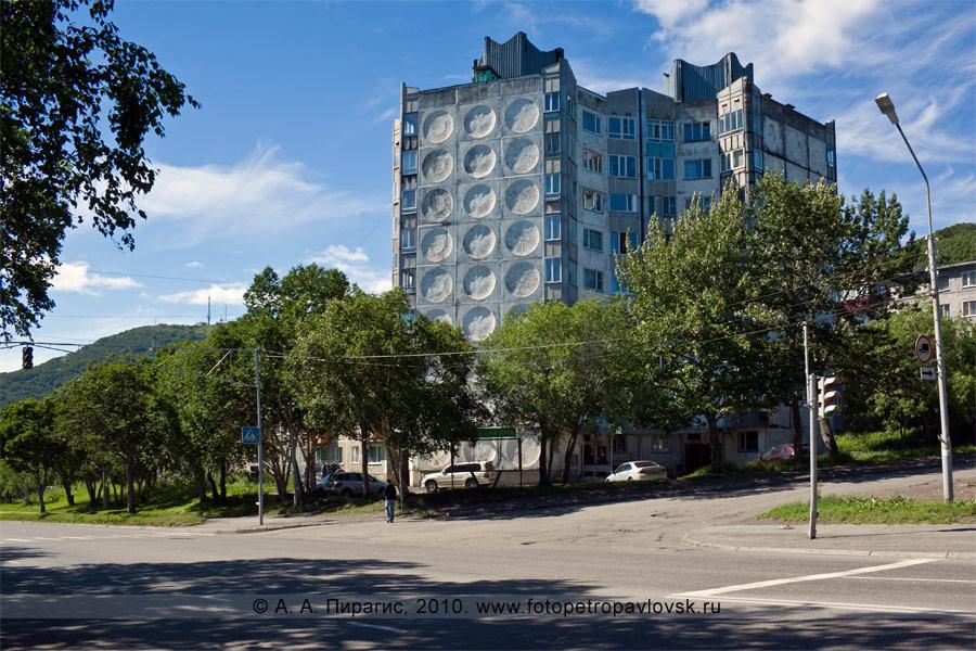 Фотография: девятиэтажка. Город Петропавловск-Камчатский, улица Пограничная, 21