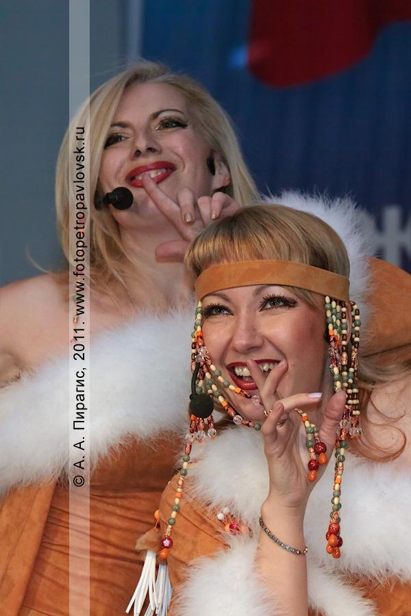 Фотография: выступление творческого коллектива. День сотрудника органов внутренних дел России. Город Петропавловск-Камчатский