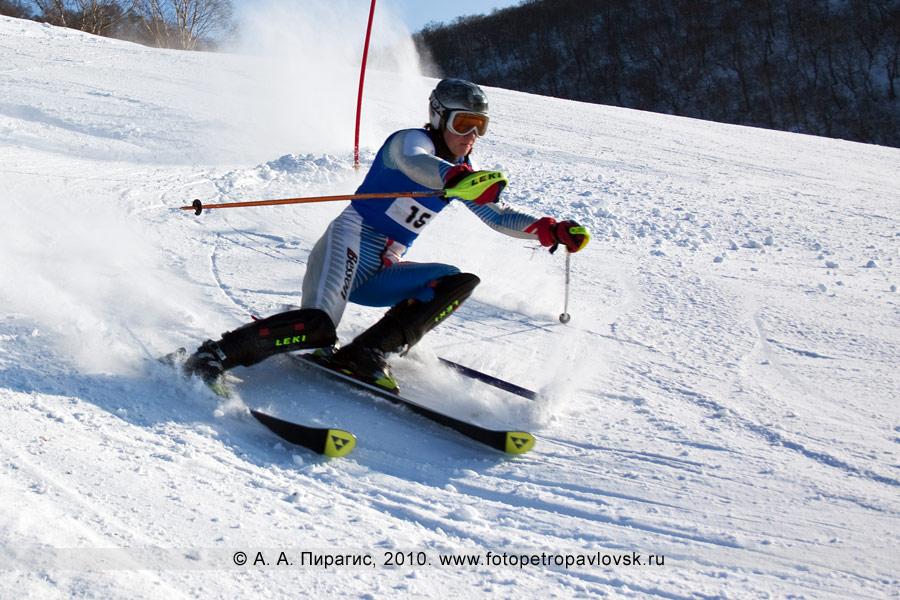 Фотография: Попов Денис — 2-е место в чемпионате Камчатского края по слалому