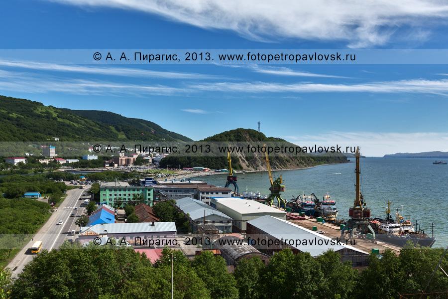 Фотография: Петропавловский судоремонтно-механический завод (ПСРМЗ) в городе Петропавловске-Камчатском