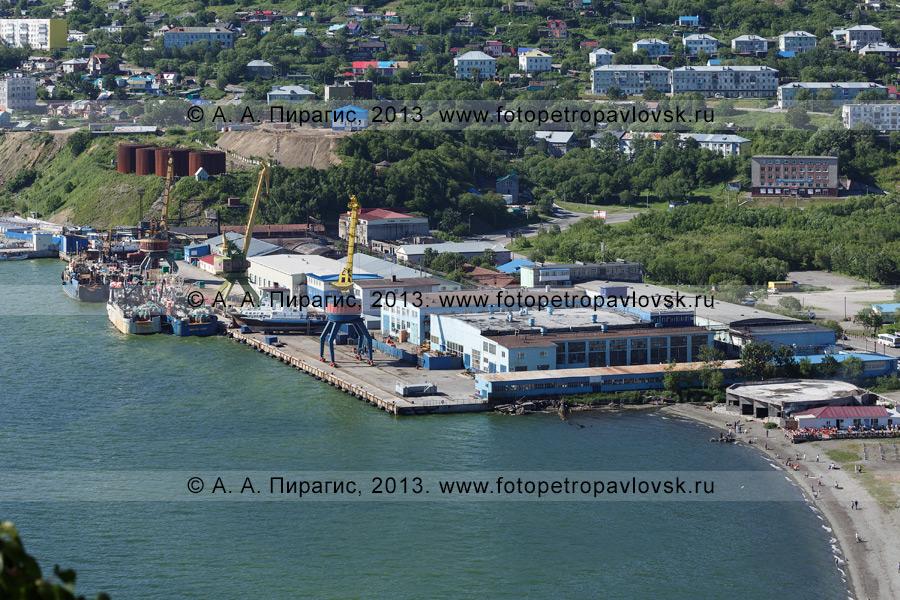 Фотография: Петропавловский судоремонтно-механический завод (ПСРМЗ) в Петропавловске-Камчатском (Камчатский край)