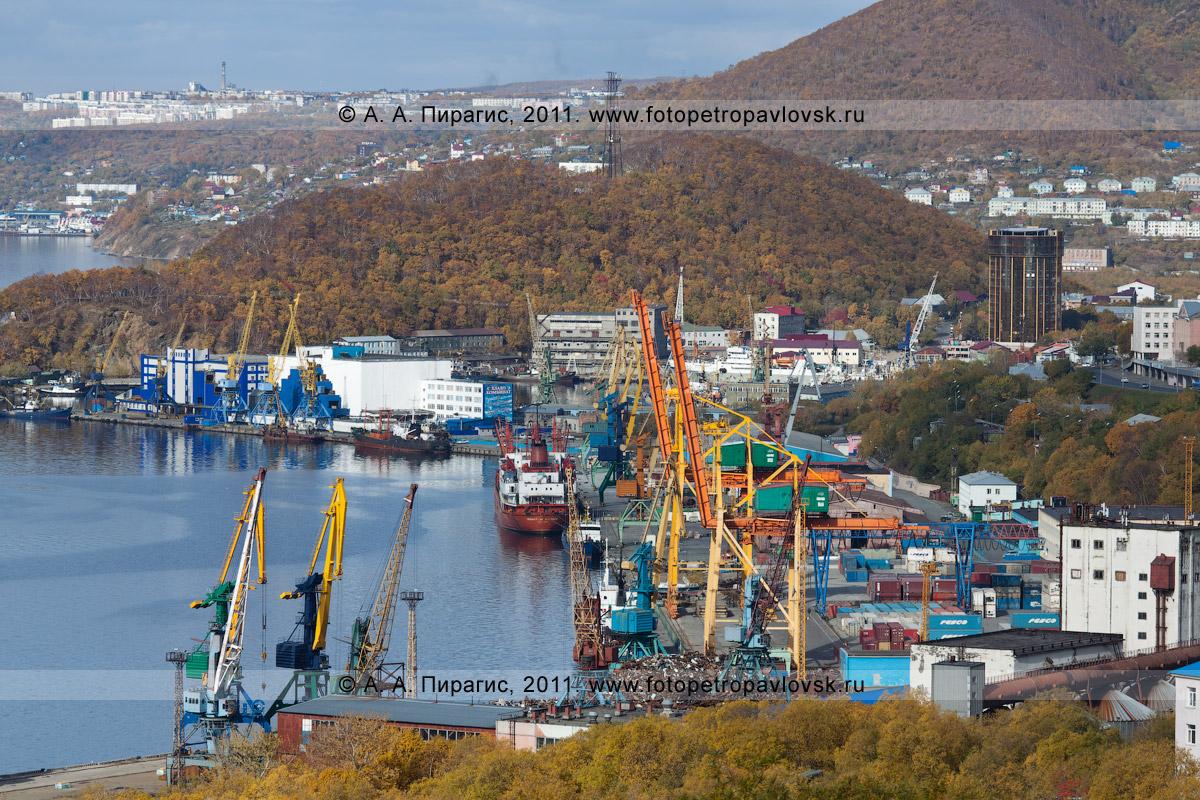 Фотография: Петропавловск-Камчатский морской торговый порт, Камчатский край, город Петропавловск-Камчатский, площадь Щедрина, 2