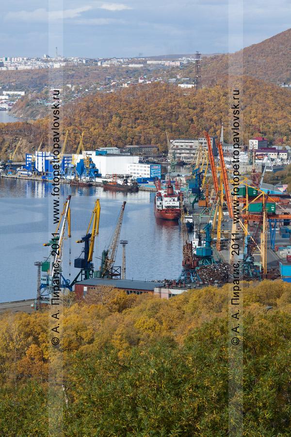 Фотография: Петропавловск-Камчатский морской торговый порт. Петропавловск-Камчатский, пл. Щедрина, 2