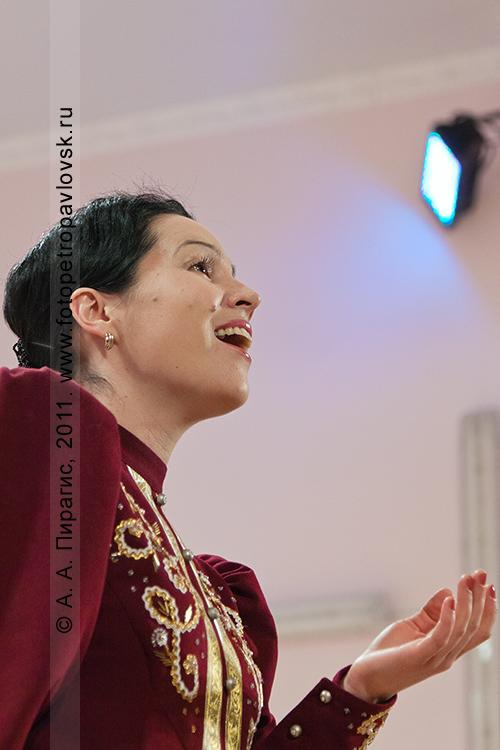 Фотография: солистка Татьяна Мигунова (город Петропавловск-Камчатский)