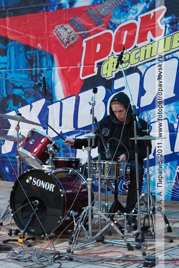 Фотография: рок-концерт в День молодежи. Город Петропавловск-Камчатский
