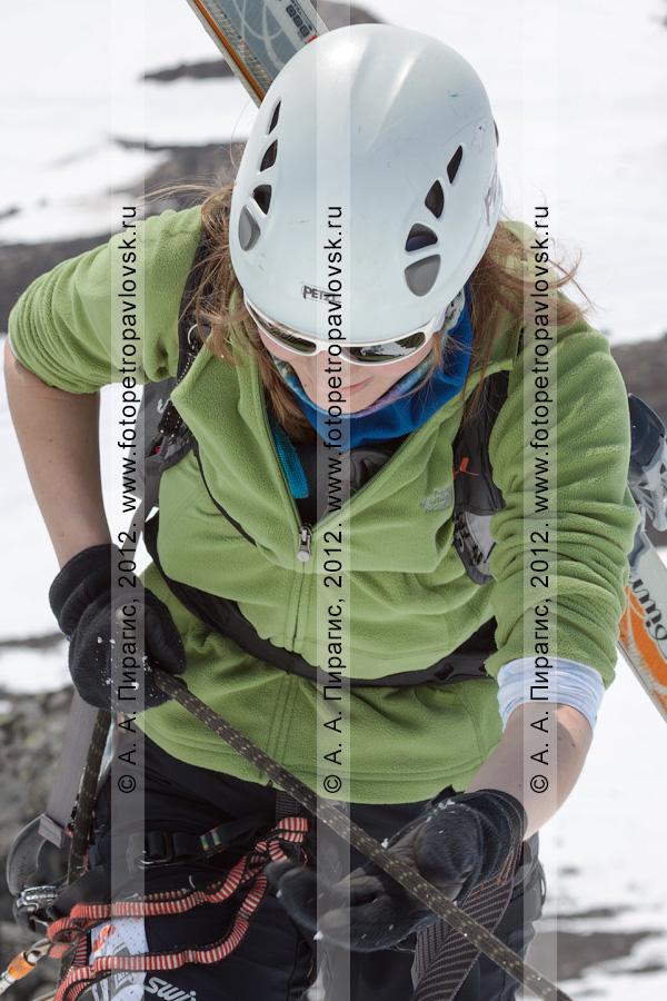 Фотография: ски-альпинизм, командная гонка. Камчатский край, Авачинский перевал