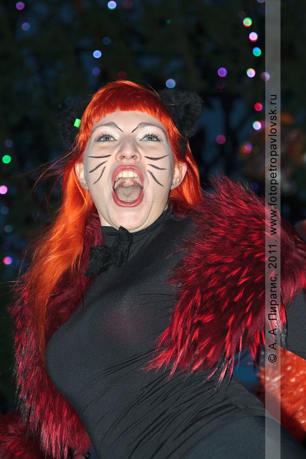 """Фотография: снегурочка Литвинова Наташа. Конкурс """"Забег снегурочек"""" от камчатской радиостанции """"Радио СВ"""""""