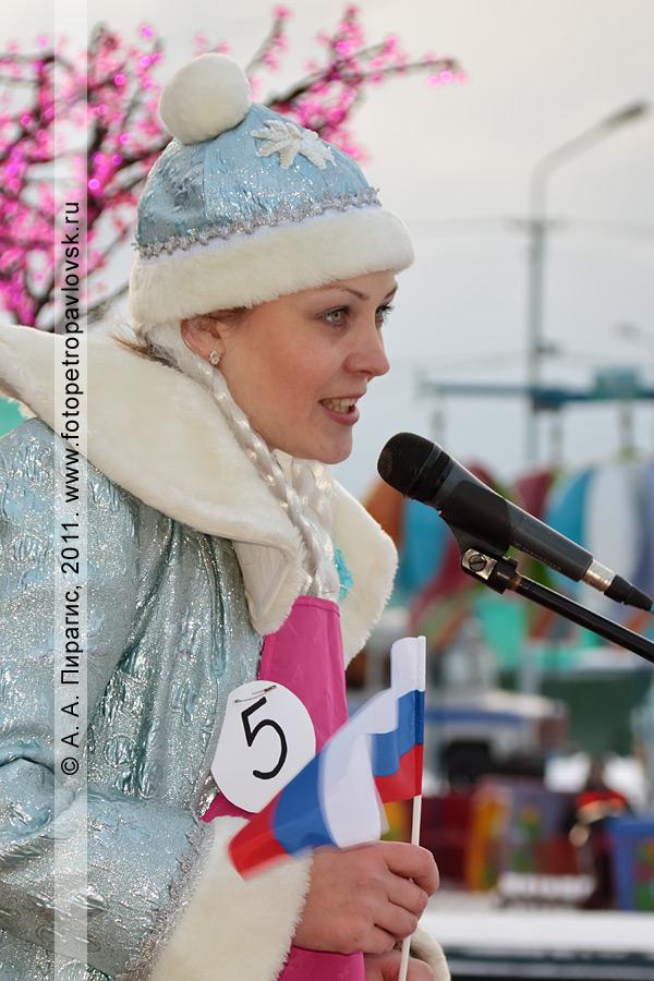 """Фотография: снегурочка Терновая Люда. Конкурс """"Забег снегурочек"""" от камчатской радиостанции """"Радио СВ"""""""