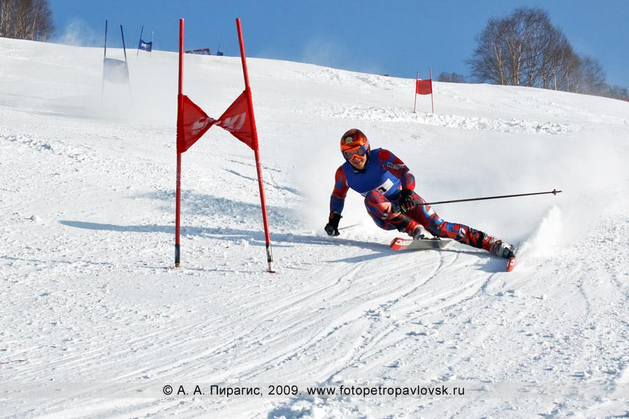 Фотография: Сутырин Артур — 2-е место в чемпионате Камчатского края по слалому-гиганту (гигантский слалом)