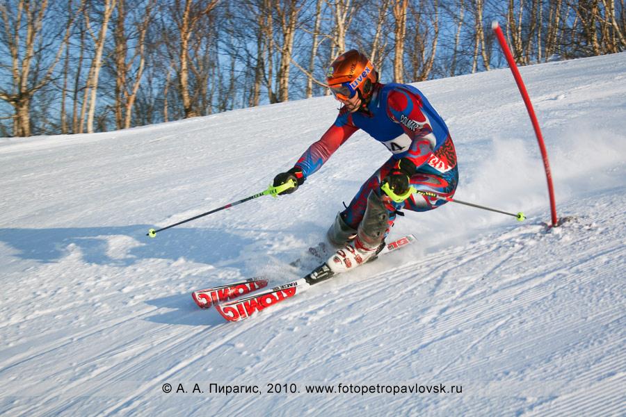 Фотография: Сутырин Артур — 1-е место в чемпионате Камчатского края по слалому