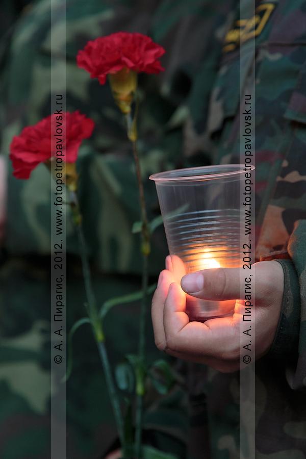 """Фотография: """"Свеча памяти"""" — молодежная патриотическая акция. 22 июня, День памяти и скорби"""