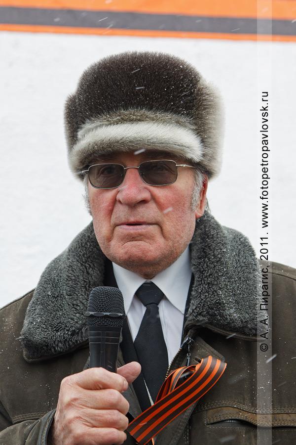 Фотография: Виктор Денищенко — председатель Петропавловск-Камчатского городского Совета ветеранов (пенсионеров) войны, труда, Вооруженных Сил и правоохранительных органов