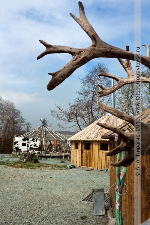 """Фотография: корякская этническая деревня """"Танынаут"""" на Камчатке"""
