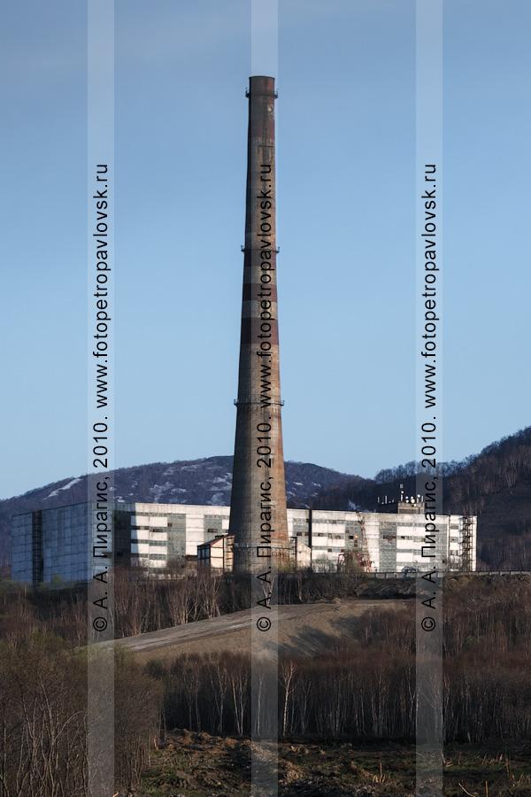 Фотография: Камчатская ТЭЦ-2 в городе Петропавловске-Камчатском