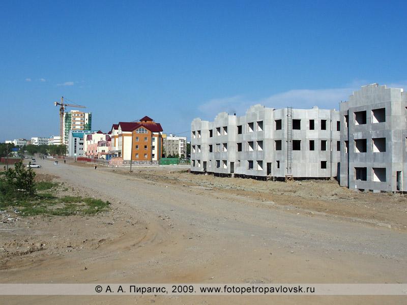 Улица Топоркова в городе Петропавловске-Камчатском