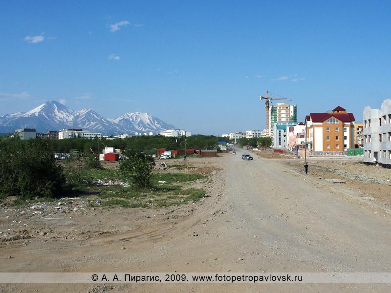Петропавловск-Камчатский, улица Топоркова